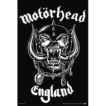 Motorhead England Poster Poster Print