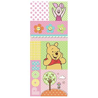 Homedecor adhesive decoration for doors Winnie the Pooh & Pig