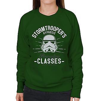 Prevenção de Stormtrooper hipnose original Classes moletom feminino