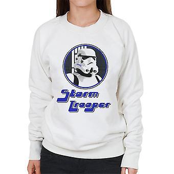 Original Stormtrooper 70er Jahre Retro-Damen Sweatshirt