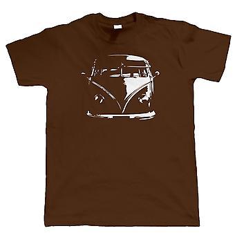Split Screen Camper Van T Shirt - Vee Dub Campervan - Gift for Dad