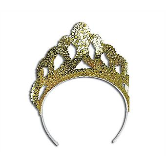 Bnov Tiara Sequin Gold