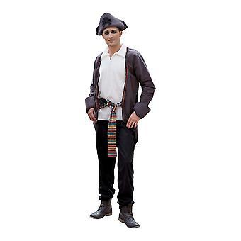 Pirate Costume Mr costume seafaring privateer costume men