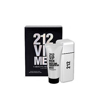 Carolina Herrera 212 VIP-Geschenk-set Men Edt 100 ml + SG 100 ml