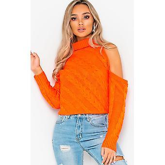 IKRUSH Womens Yasmin tricoté découpe de cavalier