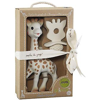 Sophie the Giraffe and So Pure Natural Teether Set
