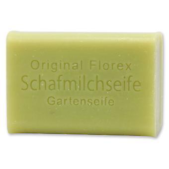 Florex Schafmilchseife - Gartenseife - reinigt stark verschmutzte Hände mit Lanolin pflegend 100 g