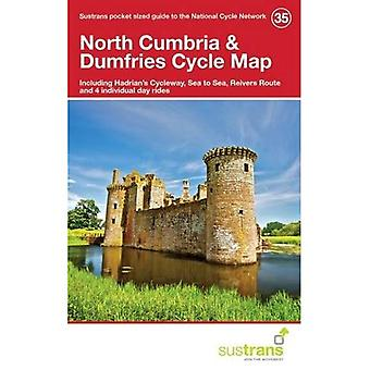 North Cumbria & Dumfries Cycle Map 35: Including Hadrian's Cycleway, Sea to Sea, Reivers Route and 4 Individual Day Rides