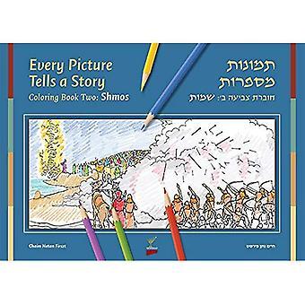 Ogni immagine racconta una storia, Volume 2 Shmos libro da colorare