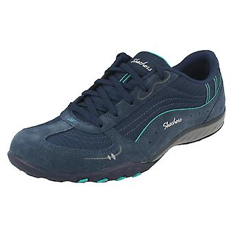 Ladies Skechers Relaxed Fit Trainers Breathe Easy Just Relax