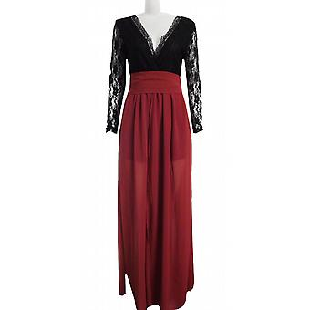 Waooh - Long dress with lace sleeves Hyme