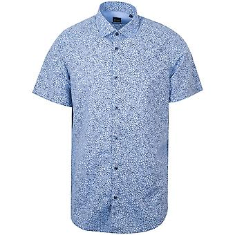 Boss Rash Blue Short Sleeve Floral Shirt
