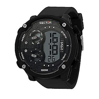 SECTOR men's digital watch with Silicone strap R3251571002