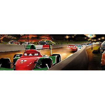 The Art of Disney Cars Panorama Jigsaw Puzzle (1000 Pieces)