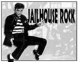 Elvis Jailhouse Rock Steel Sign    (de)