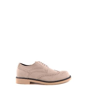 Tod's Grey Suede Lace-up Shoes