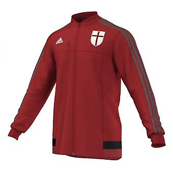 2015-2016 AC Milan Adidas Anthem Jacket (Red) - Kids