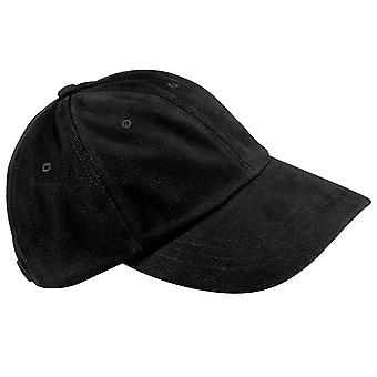 Beechfield Unisex Low Profile Heavy Brushed Cotton Baseball Cap (Pack of 2)
