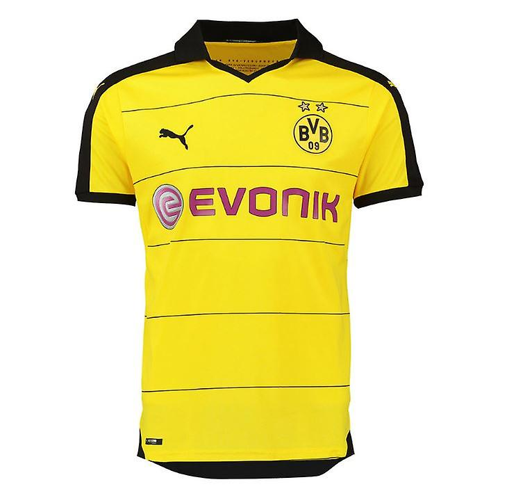 2015-2016 Borussia Dortmund Puma Home Football Shirt