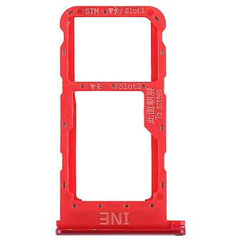 For Huawei P smart plus cards Halter SIM card tray holder red sled parts