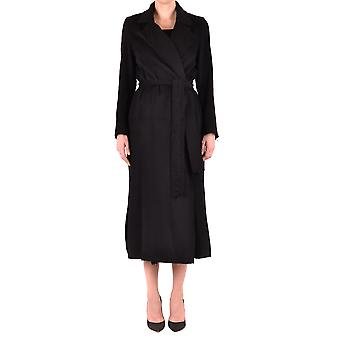 Gotha Black Wool Coat