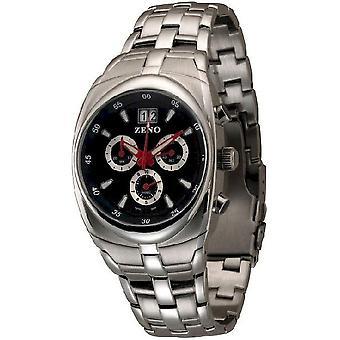 Zeno-watch mens watch race chronograph 153Q-g1M