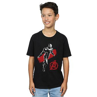 Marvel Boys Avengers Endgame Mono Iron Man T-Shirt
