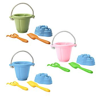 Green Toys Sand Play Set Beach Water Holiday Travel BPA Free 100% Recycled