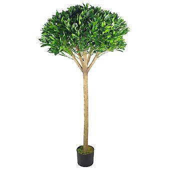 150cm (5ft) Premium Artificial Bay tree with pot