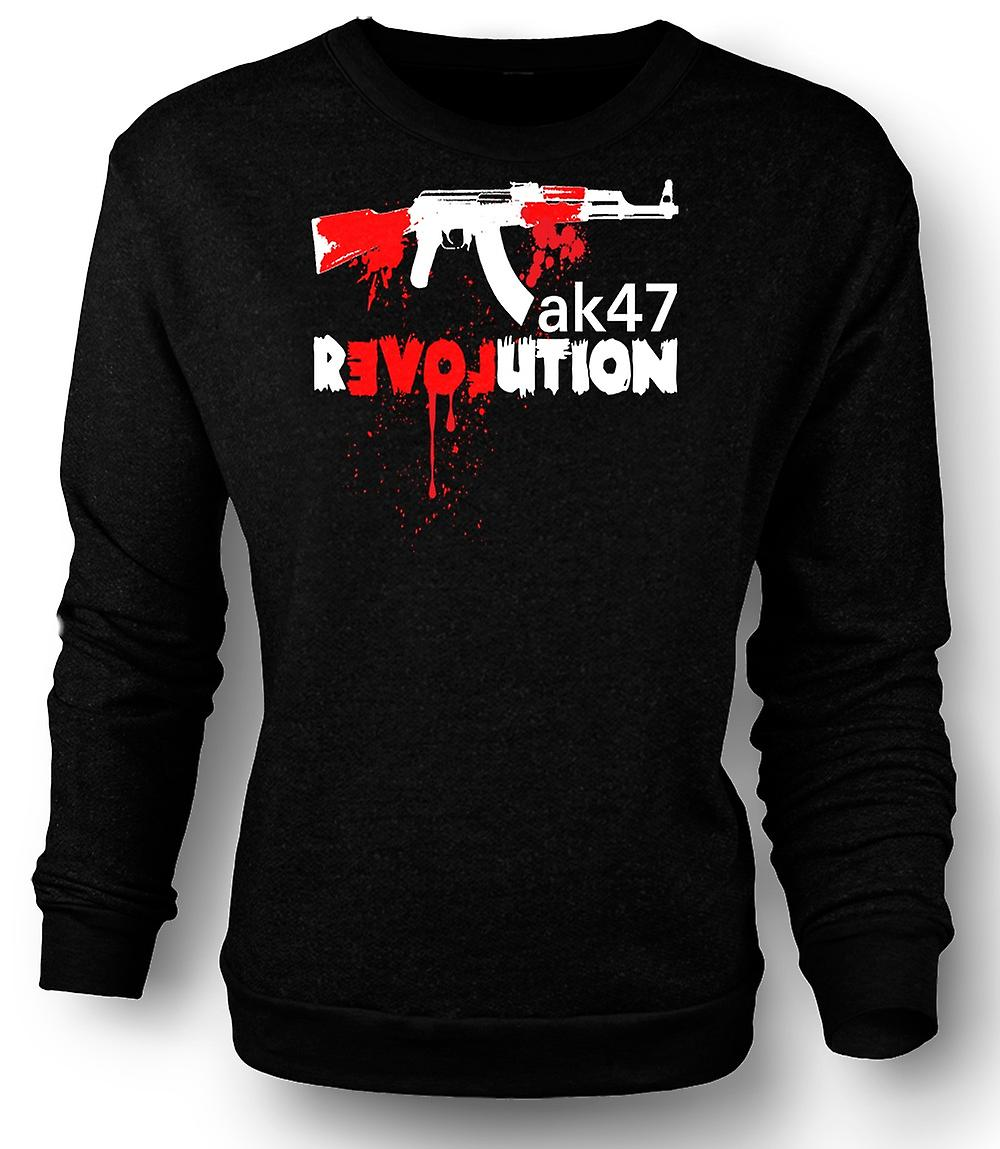 Mens Sweatshirt AK47 Revolution