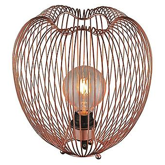 Table Lamp Luminaire In Copper