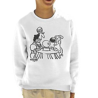 Grimmy Fortune Teller Kid's Sweatshirt