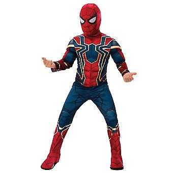 Spider-Man Deluxe Iron Spider Marvel Avengers Endgame Superhero Boys Costume