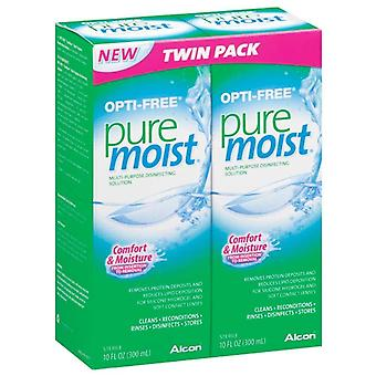 Opti-free puremoist disinfecting solution, twin pack, 20 oz