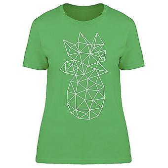 Ananas geometrische Art Tee vrouwen ' s-afbeelding door Shutterstock