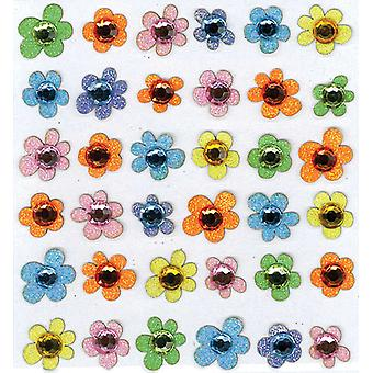 Jolee's Boutique Dimensional Stickers Baby Gem Flowers E5020144