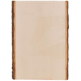 Basswood Country Rectangle Plank 7