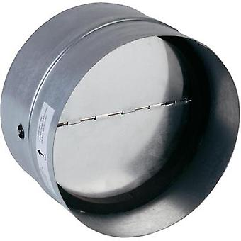 Backflow flap incl. rubber sealing Suitable for pipe diameter: 10 cm Wallair N35981 Galvanized