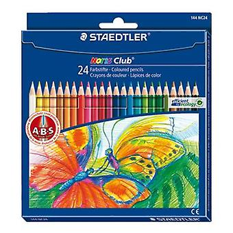 Staedtler Case 24 colored pencils Staedtler (Jouets , Zone Scolaire , Dessin Et Couleur)