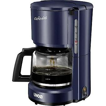Coffee maker Unold Compact Blue Cup volume=10 Plate warmer
