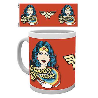 Wonder Woman Twarz kubek