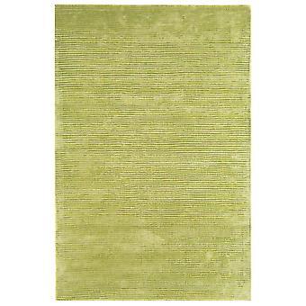 Bellagio Green Plain Viscose Rug