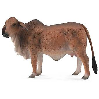 Collecta Red Brahman cow -L- (Toys , Dolls And Accesories , Miniature Toys , Animals)