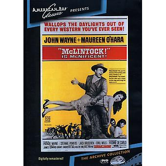 ¡McLintock! Importar de Estados Unidos [DVD] (1963)