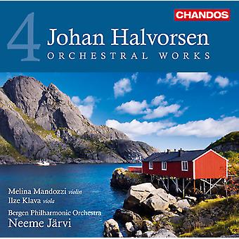J. Halvorsen - Johan Halvorsen: Obras orquestales, importación USA Vol. 4 [CD]