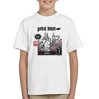 Rebel Loops Wolfenstein Cereal Kid's T-Shirt