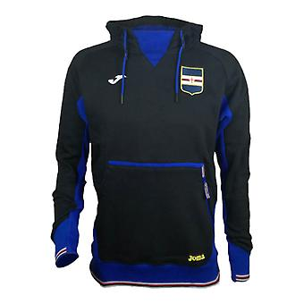 2017-2018 Sampdoria Joma Hooded Top (Black)