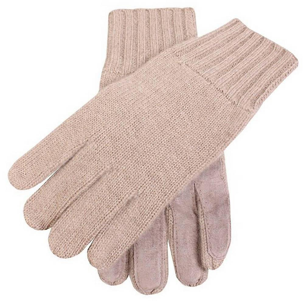 Dents Knitted Cashmere Gloves - Camel