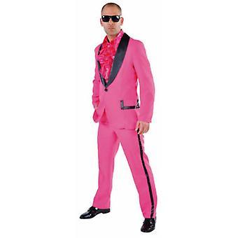 Mænd kostumer Pink Tuxedo costume