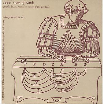 2000 år av musik sammanställts av & frisläppt i Memo - 2.000 åren av musik [CD] USA import